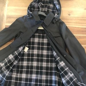 Burberry Coat with Removable Wool Lining